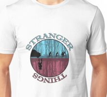 stranger things monster and eleven Unisex T-Shirt