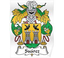 Suarez Coat of Arms (Spanish) Poster