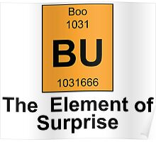 Boo The Element of Surprise Poster