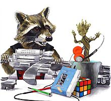 I Want You Back - Rocket and Groot by Jesse Rubenfeld