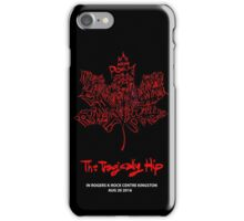 TRAGICALLY HIP - typography edition red - iphone iPhone Case/Skin