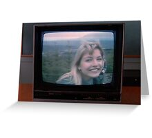 Who Killed Laura Palmer? Greeting Card