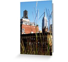 Empire State Building from the Highline  Greeting Card