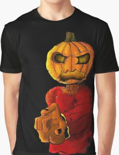 Halloween pumpkin head monster Graphic T-Shirt