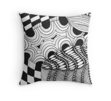Meer Purked Throw Pillow