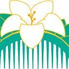 Lotus comb by roarieee