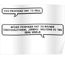Hitler Promised Poster