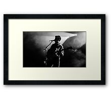 Ezra Koenig - Vampire Weekend Framed Print