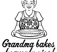 Grandma Bakes Heavenly Pies by papabuju