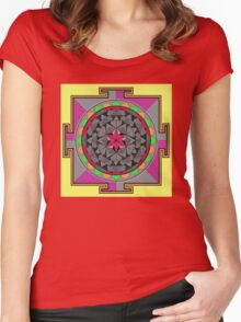 ARCHON ROSE 53 Women's Fitted Scoop T-Shirt