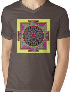 ARCHON ROSE 53 Mens V-Neck T-Shirt