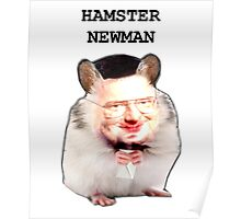 Hamster Newman  Poster