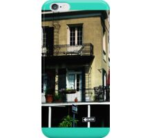 Old French Quarter Buildings iPhone Case/Skin