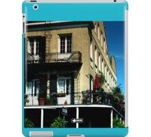 Old French Quarter Buildings iPad Case/Skin
