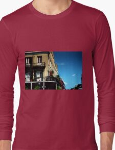 Old French Quarter Buildings Long Sleeve T-Shirt