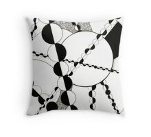 """Half Mania"" Throw Pillow"