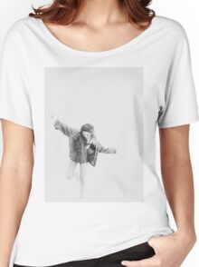 JESSICA JUNG B&W Women's Relaxed Fit T-Shirt