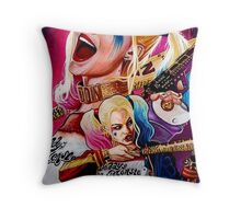 Harley quinn Throw Pillow