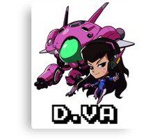 D.VA Cute Spray Merchandise Canvas Print
