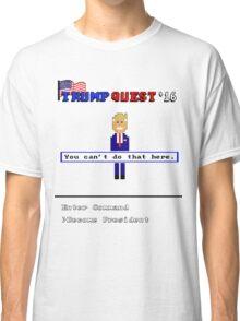 Trump Quest '16 Adventure Game T-Shirt - Retro Computer Game  Classic T-Shirt