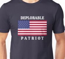 Deplorable Patriot for US Unisex T-Shirt