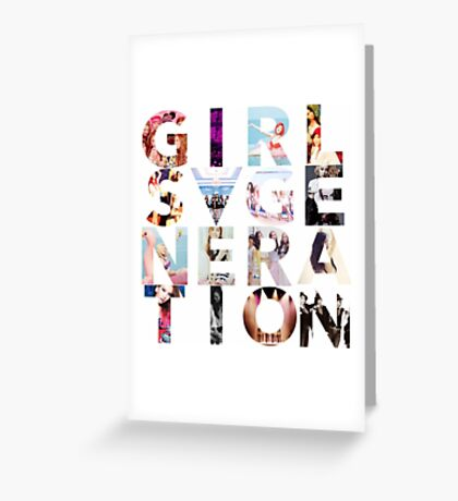 GIRLS´GENERATION - SNSD Greeting Card