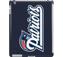 New England Patriots iPad Case/Skin