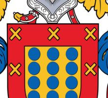 Trujillo Coat of Arms (Spanish) Sticker