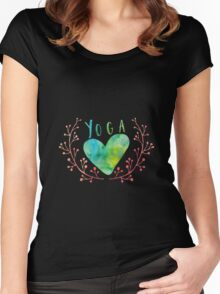 Yoga Love Women's Fitted Scoop T-Shirt