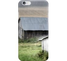 21.8.2014: Abandoned Farm Buildings iPhone Case/Skin