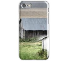 21.8.2014: Abandoned Farm Buildings iPhone Case/Skin
