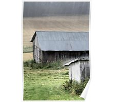 21.8.2014: Abandoned Farm Buildings Poster