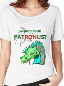 Who What's Your Patronus Women's Relaxed Fit T-Shirt