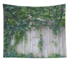 The Green Can Never Be Blocked Wall Tapestry