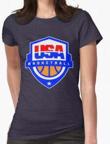 Team USA Basketball National Team Olympics Womens Fitted T-Shirt