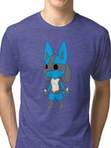 Chibi Lucario Tri-blend T-Shirt