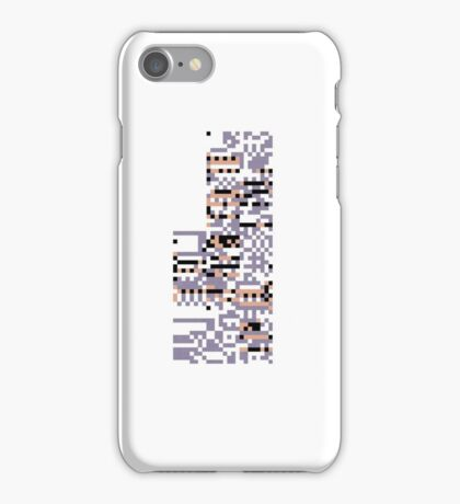 Missingno pokemon iPhone Case/Skin
