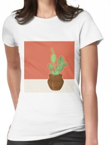 Potted Pickled Pear Womens Fitted T-Shirt