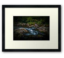 Ngamuwahine river Framed Print
