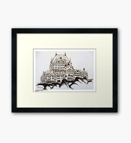Fairmont Chateau Frontenac, Canada Framed Print