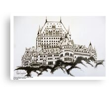 Fairmont Chateau Frontenac, Canada Metal Print