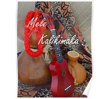 Mele Kalikimaka - Merry Christmas Poster