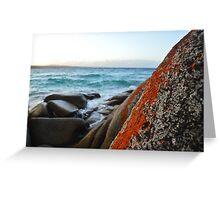 Bay Of Fires, St Helens Tasmania Greeting Card