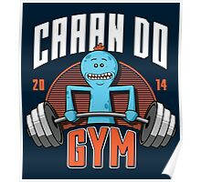 Can Do Gym Poster