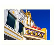 Roxy Theater - Old Atlanta Landmark Art Print