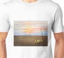Crab, ghost crab, Florida, sunrise, sunset, beach Unisex T-Shirt