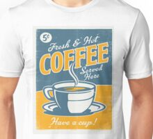 Vintage poster- Coffee Unisex T-Shirt