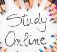 Study Online Sticker