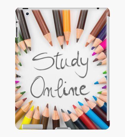 Study Online iPad Case/Skin