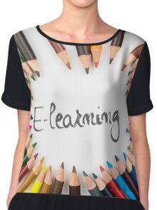 E-Learning Chiffon Top